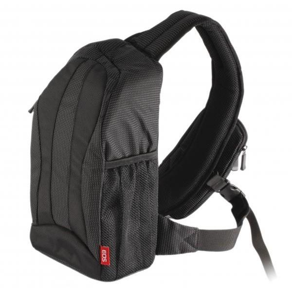 Фоторюкзак Canon Custom Gadget Bag 300EGCanon 300EG - это функциональный наплечный рюкзак для удобной транспортировки вашей SLR-системы. Он вмещает в себя фотокамеру, запасной объектив, вспышку, зарядное устройство и другие дополнительные аксессуары.<br>