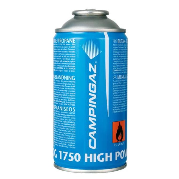 Газовый картридж Campingaz CG1750 бутан/пропанГазовый картридж клапанного типа Campingaz 202093 CG1750 для использования с паяльными лампами Campingaz®. Содержит 175 гр бутан-пропана.<br>