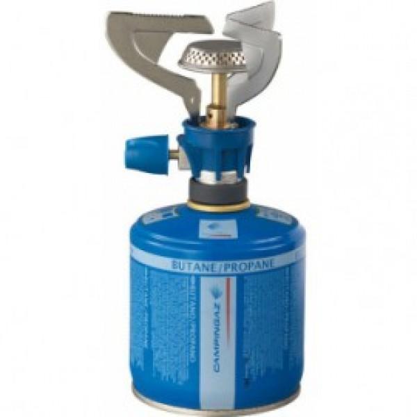 Горелка газовая Campingaz Twister Micro PlusГазовая горелка Twister® Micro Plus. Мощность: 1 300 Вт. Время работы на 1 газовом картридже: СV 270 Plus – 2,5 ч., CV 300 Plus – 2,6 ч., CV 470 Plus - 5 часов. Время закипания 1л воды: 5 мин. 15 сек<br>