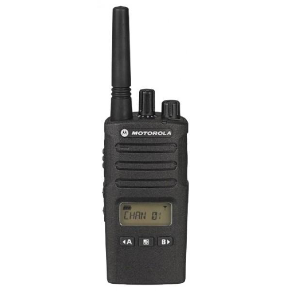 Радиостанция Motorola XT460рация PMR, диапазон частот 446-446.1 МГц, мощность передатчика 0.5 Вт, питание Li-Ion-аккумулятор, вес 256 г, количество каналов 8, поддержка кодирования CTCSS, DCS<br><br>Вес кг: 0.30000000