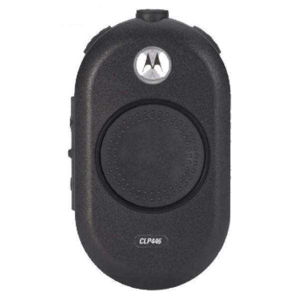Радиостанция Motorola CLP446рация PMR, диапазон частот 446-446.1 МГц, мощность передатчика 0.5 Вт, питание Li-Ion-аккумулятор, вес 68 г, количество каналов 8, подключение гарнитуры<br><br>Вес кг: 0.08000000