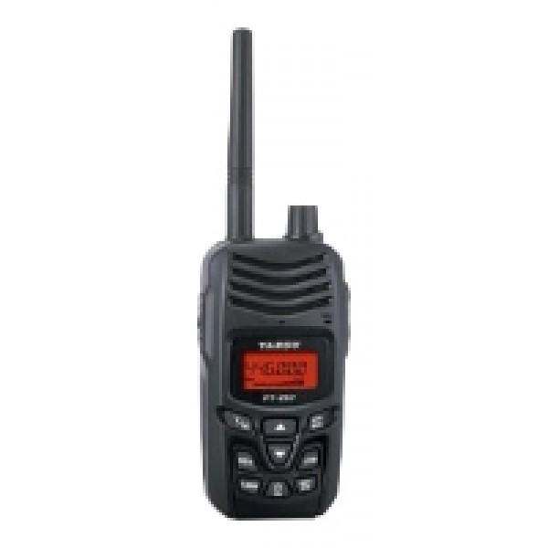 Радиостанция Yaesu FT-257 портативнаярация UHF, диапазон частот 400-470 МГц, мощность передатчика 5 Вт, питание Li-Ion-аккумулятор, вес 280 г, количество каналов 200, поддержка кодирования CTCSS, DCS, DTMF<br><br>Вес кг: 0.30000000