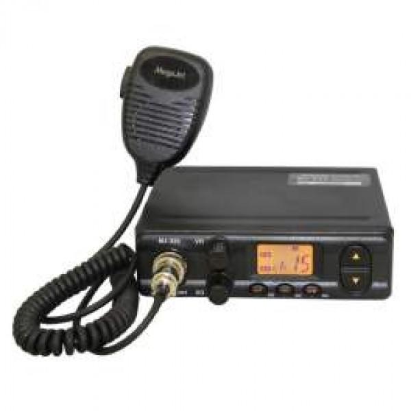 Радиостанция Megajet MJ-333 автомобильнаяОсновные особенности рации Megajet MJ-333 Количество каналов - 135 Сетки C,D,E (120+15) Чувствительность приёмника - 0,3 мкВ с/ш 12 дБ FM/0,5 мкВ с/ш 10 дБ AM. Выходная мощность передатчика - 8 Вт при Uпит. 13,8 В. Виды модуляции - FM(ЧМ) 2 кГц/АМ 90% Напряжение питания - 13,8 В. Максимальный потребляемый ток - 2,0 А.<br><br>Вес кг: 0.70000000
