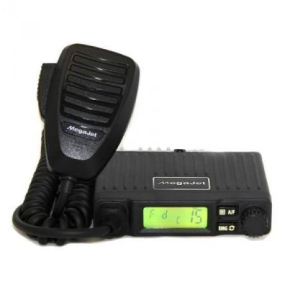 Радиостанция Megajet MJ-50 автомобильнаяMegaJet MJ-50 - суперкомпактная рация ( 99х24х83 мм ) Си-Би диапазона (27 МГц), мощность станции 8 Вт. Из особенностей можно отметить 7 цветов подсветки дисплея и возможность переворота дисплея на 180 градусов.<br><br>Вес кг: 0.20000000