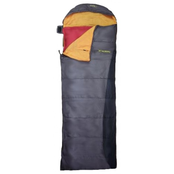 Спальный мешок Talberg Alpspitzeспальный мешок-одеяло, кемпинговый, температура комфорта  от 9°С до 20°С, синтетический наполнитель, вес 0.92 кг<br><br>Вес кг: 1.00000000