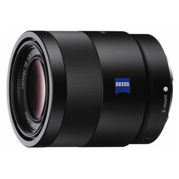Объектив Sony Carl Zeiss Sonnar T* 55mm f/1.8 ZA (SEL-55F18Z)стандартный объектив с постоянным ФР, крепление Sony E, размеры (DхL): 64.4x70.5 мм, вес: 281 г<br><br>Вес кг: 0.40000000