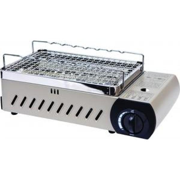 Гриль газовый Kovea KG-0904RГазовый гриль Kovea KG-0904R в считанные минуты приготовит для вас лакомство прямо на столе. Он легко разбирается и моется, а нагревательные элементы закрыты от капающей с шашлычков жидкости.<br><br>Вес кг: 2.40000000