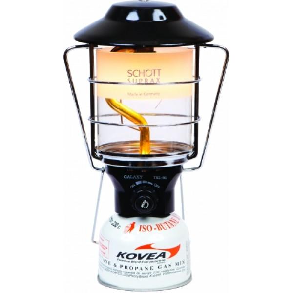 Лампа газовая Kovea TKL-961 большаяОчень мощная газовая лампа с пъезоподжигом, способная осветить даже большую стоянку. Идеальный вариант для дачи, кемпинга и автомобилистов, когда нужен мощный свет и не особо важен расход топлива, вес и габариты газовой лампы.<br><br>Вес кг: 0.90000000