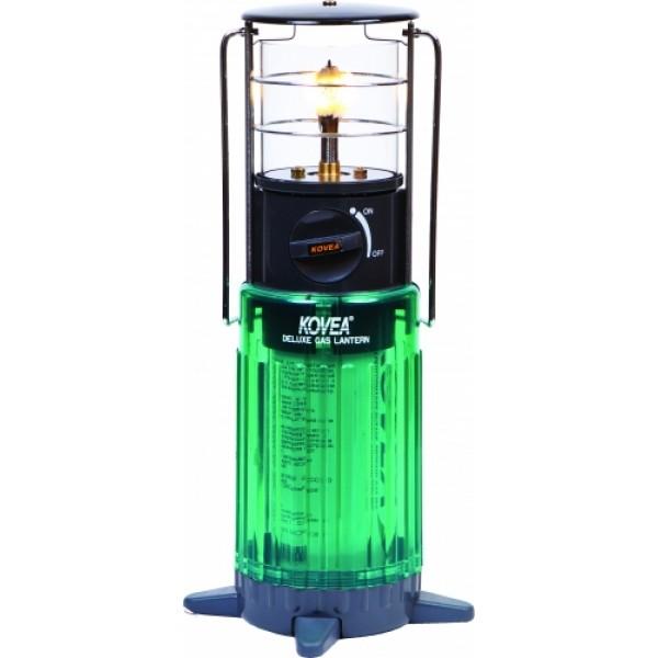 Лампа газовая Kovea TKL-929 туристическаяГазовая лампа-маяк с пъезоподжигом - это удобная настольная газовая лампа для дачного дома, если вдруг отключили свет. Она эстетично впишется в интерьер вашего стола, потому как газовый баллон скрыт внутри корпуса газовой лампы, а сама лампа красивого изумрудного цвета и с виду напоминает маяк. Особенно бывшим морякам, в романтический вечер, она напомнит спасительный свет маяка во мгле.<br><br>Вес кг: 0.90000000