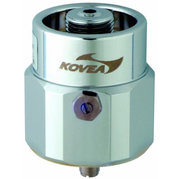 Переходник под пропановый баллон Kovea VA-AD-0701Переходник для использования газовых резаков и другого газового оборудования Kovea c зимними пропановыми балллонами Coleman и промышленным газом типа Bernzomatic - баллонами с американским резьбовым стандартом. В баллонах Coleman чистый пропан, который будет работать до - 40 С. Теперь к этому баллону можно подсоединить любое оборудование Kovea.<br><br>Вес кг: 0.20000000