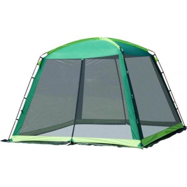 Тент-шатер Trek Planet Barbeque Dome зеленый/св.зеленыйTrek Planet Barbeque Dome - универсальный шатер шестиугольной формы с огромным внутренним помещением, который отлично подойдет как для дачи, так и для кемпинга. Основными преимуществами данной модели стали: устойчивость конструкции, большие москитные сетки во всю ширину окон и дверей, 100% защита от дождя и непогоды, проклеены швы, легкая сборка/разборка, устойчивость на ветру, возможность подвески фонаря, чехол для хранения с удобной ручкой для переноски, материал изготовления (100% полиэстер, пропитка PU), водостойкость (1000 мм), материал дуг (стеклопластик 11 мм).<br><br>Вес кг: 5.10000000