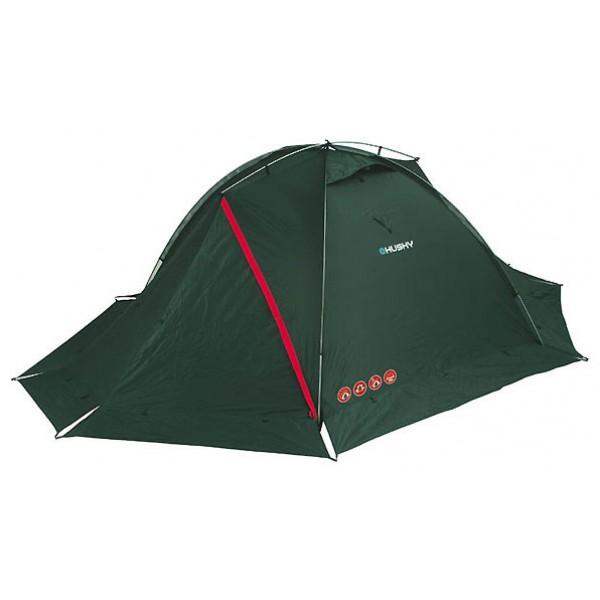 Палатка Husky Falcon 2экстремальная палатка, 2-местная, внешний каркас, алюминиевые дуги, 2 входа / одна комната, высокая водостойкость<br>