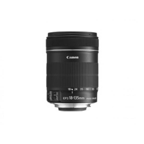 Объектив Canon EF-S 18-135mm f/3.5-5.6 ISКомпания Canon расширяет свою серию объективов EF-S, представляет мощную модель, входящую в стандартный комплект объективов владельцев камер серии EOS EF-S: EF-S 18-135mm f/3.5-5.6 IS. Объектив идеально соответствуют стилю и производительности новой камеры Canon с датчиком APS-C - Canon EOS 7D<br><br>Вес кг: 0.50000000