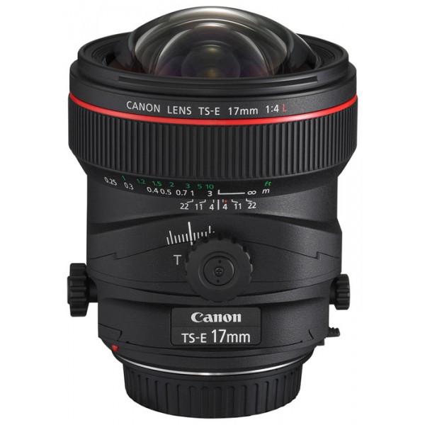 Объектив Canon TS-E 17 f/4Lширокоугольный объектив с постоянным ФР, крепление Canon EF и EF-S, минимальное расстояние фокусировки 0.25 м, вес: 820 г<br><br>Вес кг: 0.90000000
