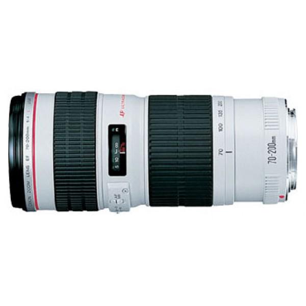 Объектив Canon EF 70-200mm f/4L USMZoom-телеобъектив, крепление Canon EF и EF-S, автоматическая фокусировка, минимальное расстояние фокусировки 1.2 м, размеры (DхL): 76x172 мм, вес: 705 г<br><br>Вес кг: 0.80000000