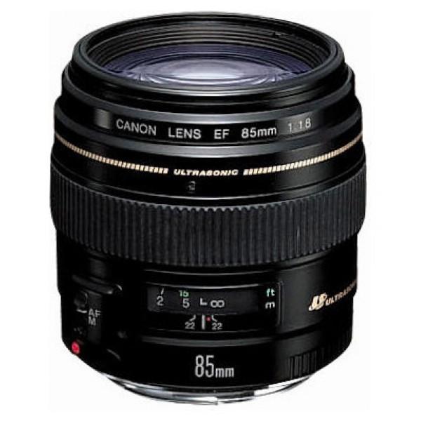Объектив Canon EF 85mm f/1.8 USMCanon EF 85mm f/1.8 USM портретный объектив с постоянным ФР, крепление Canon EF и EF-S, автоматическая фокусировка, минимальное расстояние фокусировки 0.85 м, размеры (DхL): 75x71.5 мм, вес: 425 г<br><br>Вес кг: 0.50000000