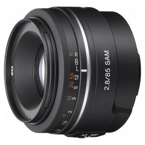 Объектив Sony 85mm f/2.8 SAM (SAL-85F28)стандартный объектив с постоянным ФР, крепление Minolta A, автоматическая фокусировка, минимальное расстояние фокусировки 0.6 м, размеры (DхL): 70x52 мм, вес: 175 г<br><br>Вес кг: 0.20000000