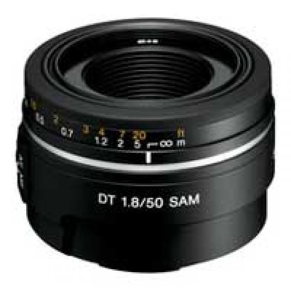 Объектив Sony 50mm f/1.8 (SAL-50F18)SAL-50F18 Компактный высококачественный светосильный объектив для портретной съемки Объектив SAM DT 50 мм F1.8<br><br>Вес кг: 0.20000000