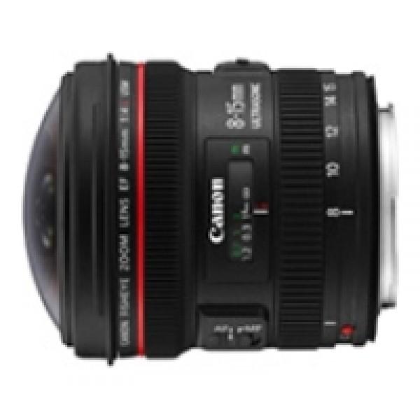 Объектив Canon EF 8-15mm f/4.0L Fisheye USMобъектив типа рыбий глаз, крепление Canon EF и EF-S, автоматическая фокусировка, минимальное расстояние фокусировки 0.15 м, размеры (DхL): 78.5x83 мм, вес: 540 г<br><br>Вес кг: 0.60000000