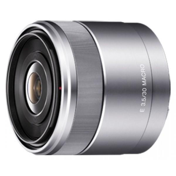 Объектив Sony SEL-30M35Sony 30mm f/3.5 Macro E (SEL-30M35) макрообъектив с постоянным ФР, крепление Sony E, автоматическая фокусировка, минимальное расстояние фокусировки 0.095 м, размеры (DхL): 62x55.5 мм, вес: 138 г<br><br>Вес кг: 0.20000000