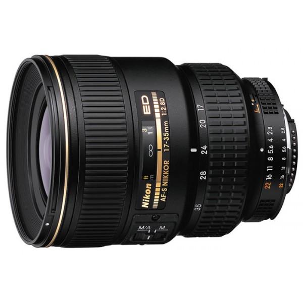 Объектив Nikon 17-35mm f/2.8D ED-IF AF-S Zoom-NikkorNikon 17-35mm f/2.8D ED-IF AF-S Zoom-Nikkor широкоугольный Zoom-объектив, крепление Nikon F, автоматическая фокусировка, минимальное расстояние фокусировки 0.28 м, размеры (DхL): 82.5x106 мм, вес: 745 г<br><br>Вес кг: 0.80000000