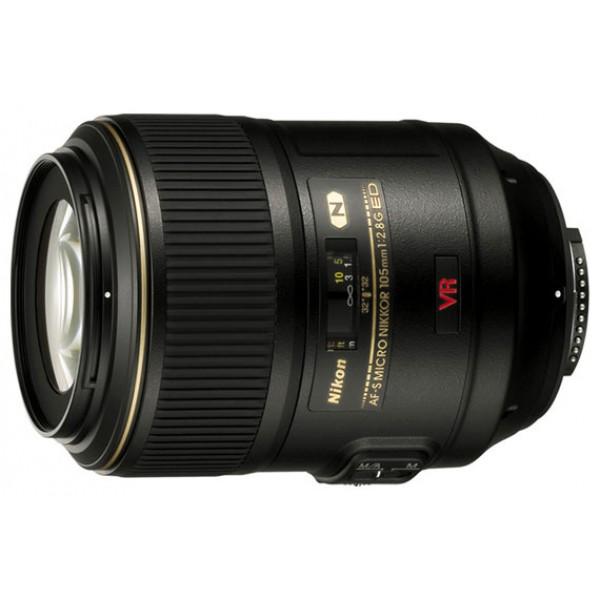 Объектив Nikon 105mm f/2.8G IF-ED AF-S VR Micro-NikkorNikon 105mm f/2.8G IF-ED AF-S VR Micro-Nikkor макрообъектив с постоянным ФР, крепление Nikon F, встроенный стабилизатор изображения, автоматическая фокусировка, минимальное расстояние фокусировки 0.314 м, размеры (DхL): 83x116 мм, вес: 790 г<br><br>Вес кг: 0.90000000