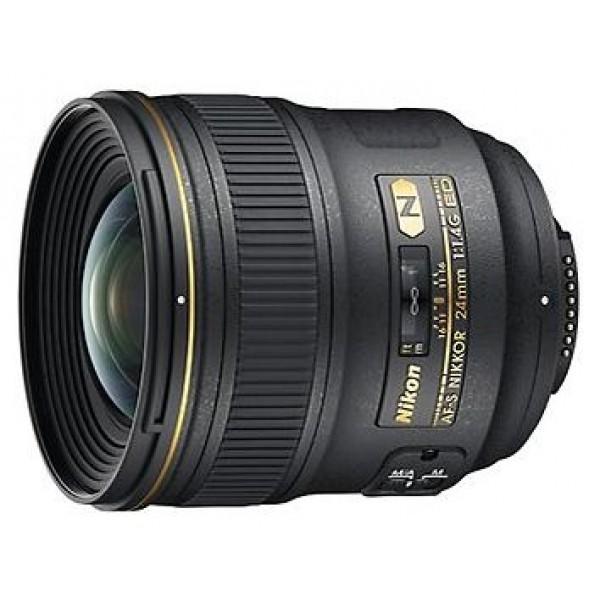 Объектив Nikon 24mm f/1.4G ED AF-S Nikkorширокоугольный объектив с постоянным ФР, крепление Nikon F, автоматическая фокусировка, минимальное расстояние фокусировки 0.25 м, размеры (DхL): 83x88.5 мм, вес: 620 г<br><br>Вес кг: 0.70000000