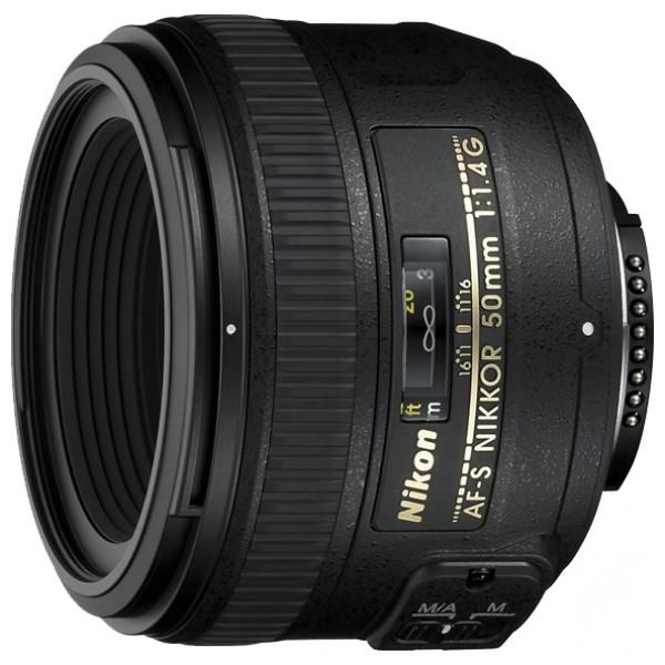 Объектив Nikon 50mm f/1.4G AF-S NikkorNikon 50mm f/1.4G AF-S Nikkor стандартный объектив с постоянным ФР, крепление Nikon F, автоматическая фокусировка, минимальное расстояние фокусировки 0.45 м, размеры (DхL): 73.5x54 мм, вес: 280 г<br><br>Вес кг: 0.40000000