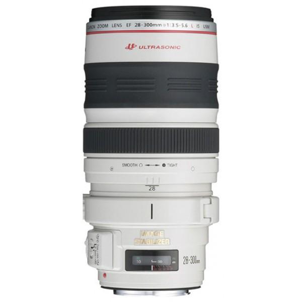 Объектив Canon EF 28-300mm f/3.5-5.6L IS USMстандартный Zoom-объектив, крепление Canon EF и EF-S, встроенный стабилизатор изображения, автоматическая фокусировка, минимальное расстояние фокусировки 0.7 м, размеры (DхL): 92x184 мм, вес: 1670 г<br><br>Вес кг: 1.67000000