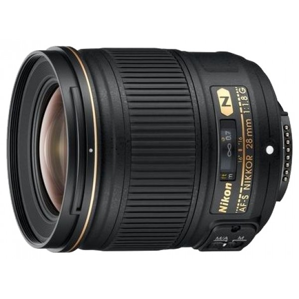 Объектив Nikon 28mm f/1.8G AF-S NikkorNikon 28mm f/1.8G AF-S Nikkor широкоугольный объектив с постоянным ФР, крепление Nikon F, автоматическая фокусировка, минимальное расстояние фокусировки 0.25 м, размеры (DхL): 73x80.5 мм, вес: 330 г<br><br>Вес кг: 0.40000000