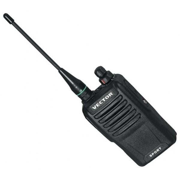 Радиостанция Vector VT-47 SportОдна из новинок серии VT-47 от компании Vector - двухдиапазонная радиостанция Vector VT-47 SPORT мощностью 2 Вт.Рация сделана из прочного удароустойчивого пластика, на базе аллюминиевого шасии. Пыле- и влагозащищена. Работает в диапазонах LPD и PMR, не требует лицензии на использование.<br><br>Вес кг: 0.20000000