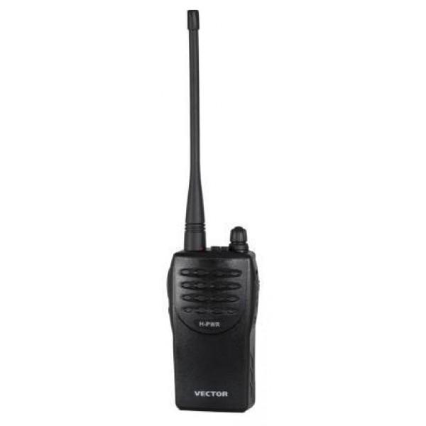 Радиостанция Vector VT-44 HРадиостанция Vector VT-44 H cамая мощная радиостанция из серии VT-44, отличается оригинальным управлением выбора каналов. Использование миниатюрного кнопочного управления и небольшой дисплей позволили расширить число каналов до 69 без необходимости программирования каналов! Отличная антенна и высокая максимальная мощность позволили добиться большой дальности связи. Вектор вт -44 H на литом шасси, собранная из элементов и по технологиям, применяемым в изготовлении профессиональных радиостанций. В стандартной комплектации радиостанции Vector 44H - литой Li-Ion аккумулятор емкостью 1500 mAh, Вектор ВТ-44H - 5Вт, эффективная съёмная штатная антенна, высокая чувствительность приёмника обеспечивают высокую дальность радиосвязи. Имеет 69+8 каналов LPD+PMR диапазонов, необходимый для работы набор функций (активацию передачу голосом с программируемым - 16 уровней - порогом срабатывания, тональный вызов). быстрое (4-5 часов) зарядное устройство типа стакан.<br><br>Вес кг: 0.30000000