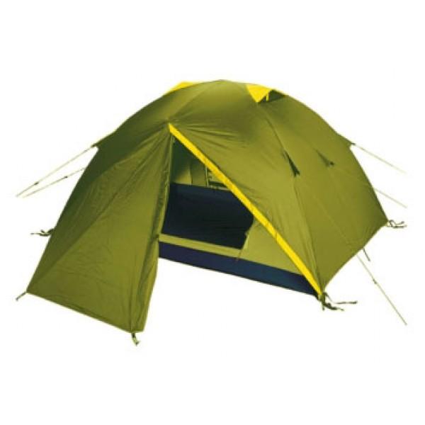 Палатка Tramp NISHE 3 трекинговаятрекинговая палатка, 3-местная, внутренний каркас, дуги из стеклопластика, 2 входа / одна комната, высокая водостойкость, вес: 3.76 кг<br><br>Вес кг: 3.76000000