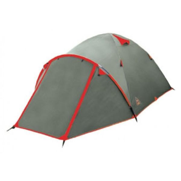 Палатка Tramp MOUNTAIN 4 экстремальнаяэкстремальная палатка, 4-местная, внутренний каркас, алюминиевые дуги, 2 входа / одна комната, высокая водостойкость, вес: 4.9 кг<br><br>Вес кг: 4.90000000