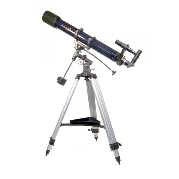 Телескоп Levenhuk Strike  900 PROТелескоп Levenhuk Strike 900 PRO – «младшая» модель в серии телескопов Strike PRO, оборудованная высококлассным ахроматическим объективом, способным передавать яркие и насыщенные изображения с минимальными хроматическими аберрациями. Дополнительная комплектация, небольшие размеры и легкий вес делают инструмент привлекательным для путешественников и любителей наблюдений на природе. Благодаря 90-мм объективу этот телескоп способен показать множество звезд до 11,8 звездной величины, что делает его пригодным для изучения не только ближнего, но и дальнего космоса. Levenhuk Strike 900 PRO покажет все объекты Солнечной системы, а также большое количество ярких астрономических объектов дальнего космоса.<br><br>Вес кг: 13.10000000