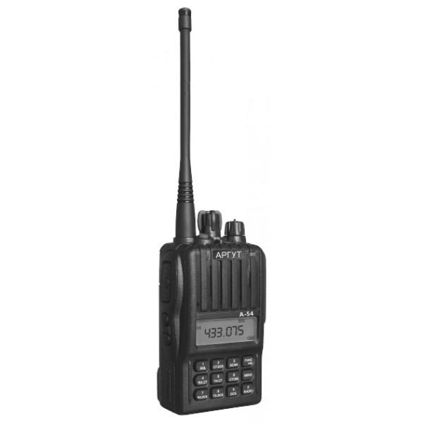 Радиостанция Аргут А-54 портативнаярация LPD/PMR, диапазон частот 433.075-434.775 МГц, 446.006-446.094 МГц, мощность передатчика 0.5 Вт, питание Li-Ion-аккумулятор, вес 270 г, количество каналов 199, поддержка кодирования CTCSS, DCS, DTMF<br><br>Вес кг: 0.30000000