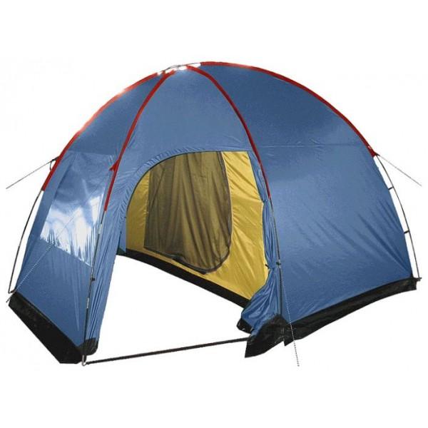 Палатка Sol ANCHOR 4 кемпинговаякемпинговая палатка, 4-местная, внешний каркас, дуги из стеклопластика, 2 входа / одна комната, высокая водостойкость тента, вес: 8.9 кг<br><br>Вес кг: 8.90000000