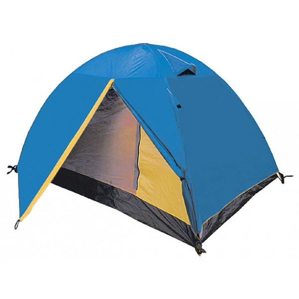 Палатка Sol TOURIST трекинговаятрекинговая палатка, 2-местная, внутренний каркас, дуги из стеклопластика, 2 входа / одна комната, высокая водостойкость, вес: 3.2 кг<br><br>Вес кг: 3.20000000