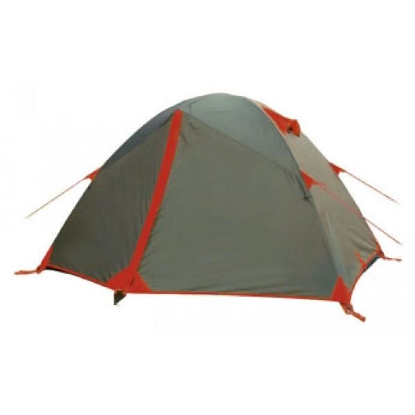 Палатка Tramp PEAK 3 экстремальнаяэкстремальная палатка, 3-местная, внутренний каркас, алюминиевые дуги, 2 входа / одна комната, высокая водостойкость, вес: 4.2 кг<br><br>Вес кг: 4.20000000