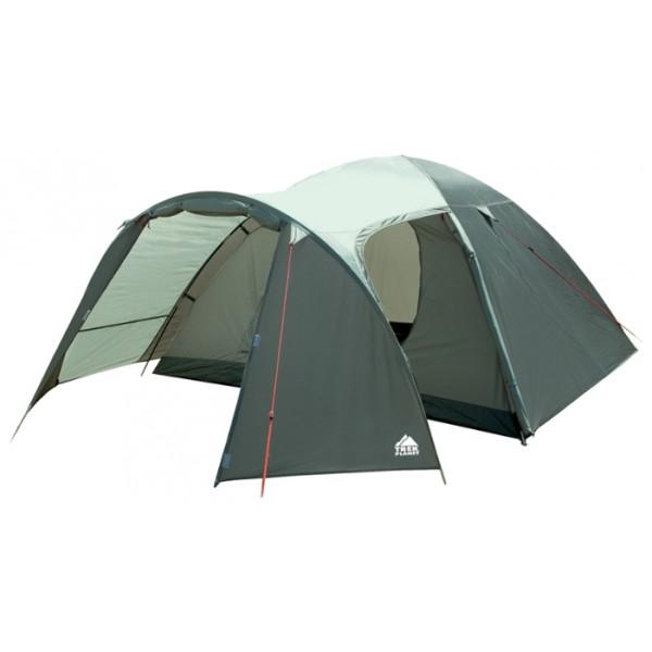 Палатка Trek Planet Cuzco 4 трекинговаятрекинговая палатка, 4-местная, внутренний каркас, дуги из стеклопластика, 2 входа / одна комната, высокая водостойкость тента, вес: 4.7 кг<br><br>Вес кг: 4.70000000