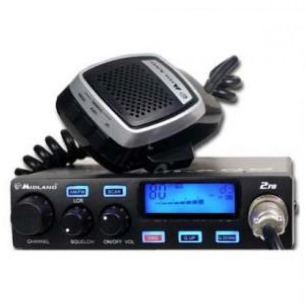 Радиостанция CB Midland 278 ASQРадиостанция Midland 278 ASQ совместила в себе такие качества как, надёжная и качественная связь, удобство и лёгкость в управлении, а так же обладает всеми необходимыми для пользователей функциями. Так же в радиостанции имеется автоматическая настройка частоты, что в свою очередь обеспечивается надёжный контроль над частотами. Так же в радиостанцию встроен подавитель шума, а для большего эффекта так же встроена система подавление Noise Blank.<br><br>Вес кг: 0.90000000