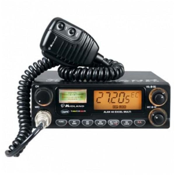Радиостанция Alan 48 Excel автомобильнаяALAN 48 Excel - мобильная СB-радиостанция с отличным дизайном и множеством функций. Имеет целый ряд значительно повышающих ее потребительские свойства функций. Устанавливается в автомобиле или используется как базовая радиостанция теми, кто знает цену качественной радиосвязи.<br><br>Вес кг: 1.03000000