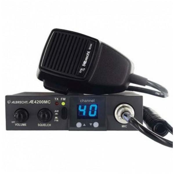 Радиостанция автомобильная Albrecht AE 5290 XLРадиостанция работает с 80 каналами связи, из них 40 в AM-диапазоне и 40 FM. При работе в FM-диапазоне качество передачи звука может портиться из-за шумов. Для борьбы с шумами в рации Albrecht AE 5290 XL используется регулируемая функция SQUELCH.<br>