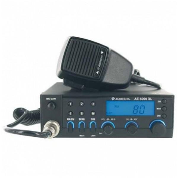 Радиостанция автомобильная Albrecht AE 5090 XLРадиостанция Albrecht AE 5090 XL изготовлена в полном соответствии с современными европейскими стандартами, благодаря чему рация способна поддерживать связь в частотных сетка 28 европейских стран.<br>