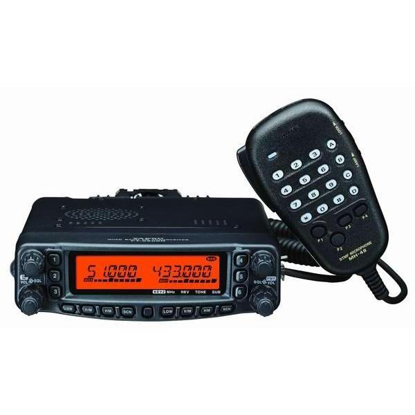 Радиостанция Yaesu FT-8900R автоYAESU FT-8900R – это высококачественный четырехдиапазонный FM трансивер для жестких условий эксплуатации, обеспечивающий выходную мощность 50 Вт в любительских диапазонах 29/50/144 МГц и 35 Вт в диапазоне 430 МГц. Он включает такие современные свойства, как междиапазонный ретранслятор, двухканальный прием, возможность работы в полнодуплексном режиме VHF-UHF и свыше 800 каналов памяти. А способность работать в 10-метровом FM диапазоне предоставляет возможность дальней FM связи со всем миром, не выходя из автомобиля!<br><br>Вес кг: 1.00000000