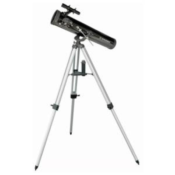 Телескоп Bresser Venus 76/700 AZТелескоп Bresser Venus 76/700 – небольшой рефлектор на азимутальной монтировке – это то, что необходимо начинающему любителю астрономии. Этот телескоп легок, компактен, прост в управлении – с ним легко справится даже ребенок, в то же время он позволяет увидеть довольно много. Лунные кратеры от 8 километров, спутники Юпитера и кольца Сатурна, самые яркие и известные объекты дальнего космоса, множество двойных звезд и звездных скоплений – эти и многие другие объекты вы сможете наблюдать собственными глазами. Благодаря небольшому весу и относительно компактным размерам этот телескоп легко можно взять с собой в поездку или путешествие, а при хранении он не займет много места.<br><br>Вес кг: 6.26000000