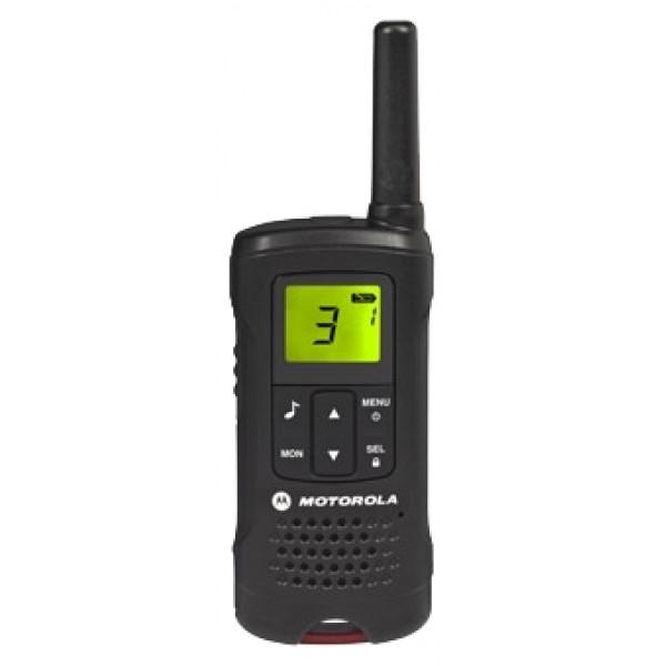 Радиостанция Motorola TLKR T60рация PMR, 2 рации в комплекте, диапазон частот 446-446.1 МГц, мощность передатчика 0.5 Вт, радиус действия 8 км, питание Ni-MH-аккумулятор, вес 103 г<br><br>Вес кг: 0.20000000