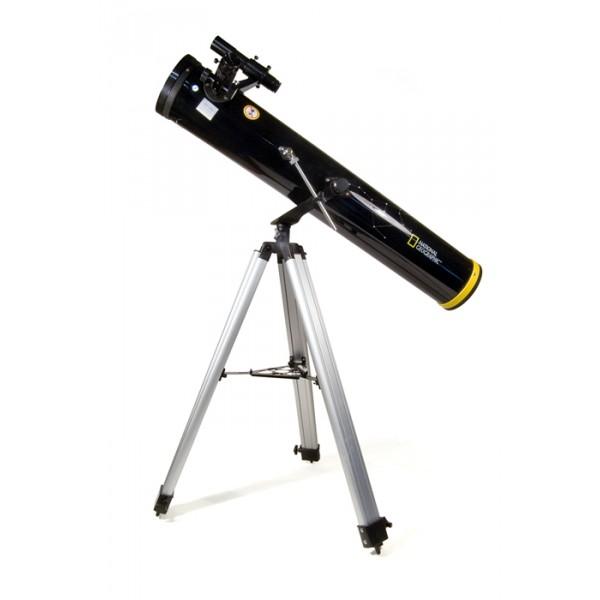 Телескоп Bresser National Geographic 114/900 AZТелескоп Bresser National Geographic 114/900 AZ – превосходный инструмент для тех, кто только начинает свои путешествия по просторам далекого космоса. Этот прибор сможет показать вам Луну, планеты Солнечной системы и их спутники, яркие звездные скопления, туманности и красочные панорамы загадочной Вселенной<br>