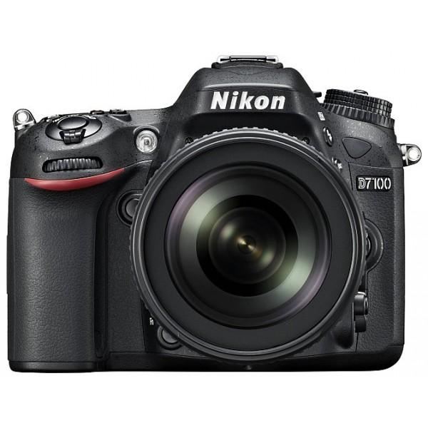 Фотоаппарат Nikon D7100 Kit 18-140mm f/3.5-5.6G ED VR зеркальныйпродвинутая зеркальная фотокамера, поддержка сменных объективов с байонетом Nikon F, объектив в комплекте, матрица 24.71 мегапикселов (23.5 x 15.6 мм), съемка видео разрешением до 1920x1080, экран 3.2, вес камеры без объектива 765 г<br><br>Вес кг: 0.80000000