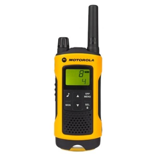 Радиостанция Motorola TLKR T80 Extreme в кейсеКомплект из двух защищённых радиостанций Motorola TLKR T80 Extreme работают в безлицензионном диапазоне PMR, на 8-ми частотных каналах<br><br>Вес кг: 0.20000000